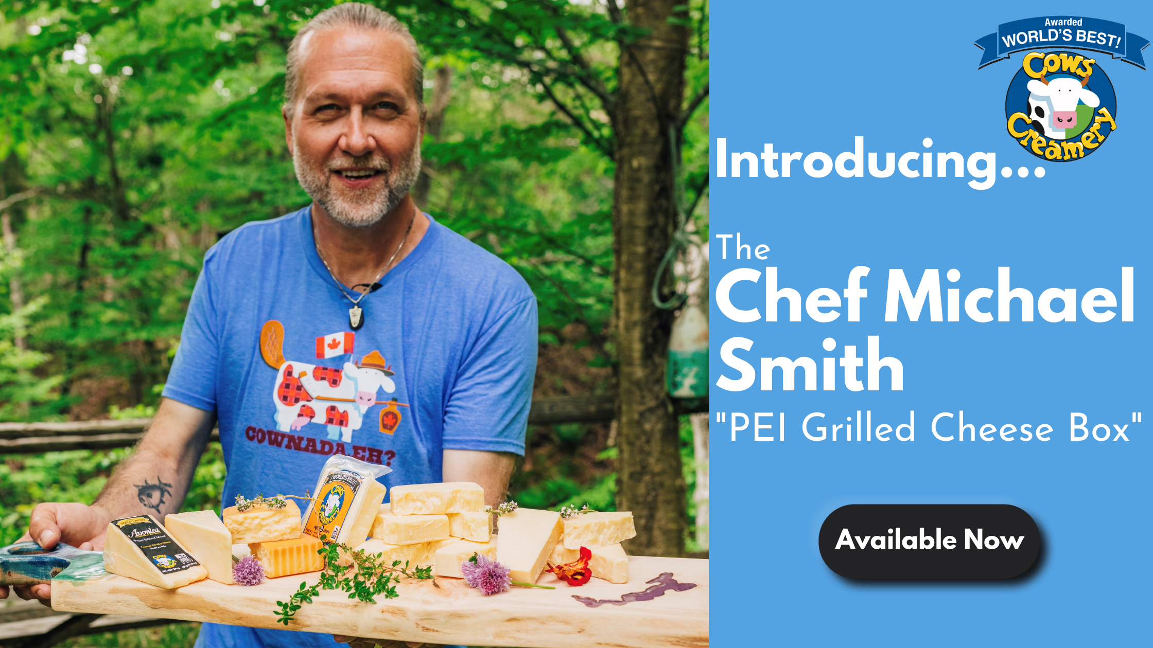 Chef Michael Smith PEI Grilled Cheese Box