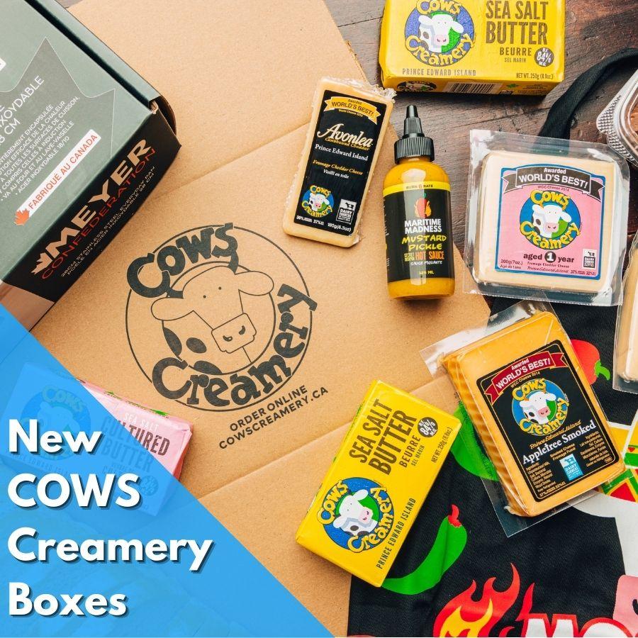 COWS Creamery Boxes